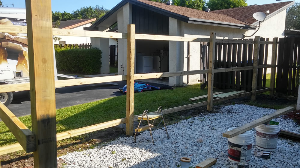 Fence Repair Company Coral Gables