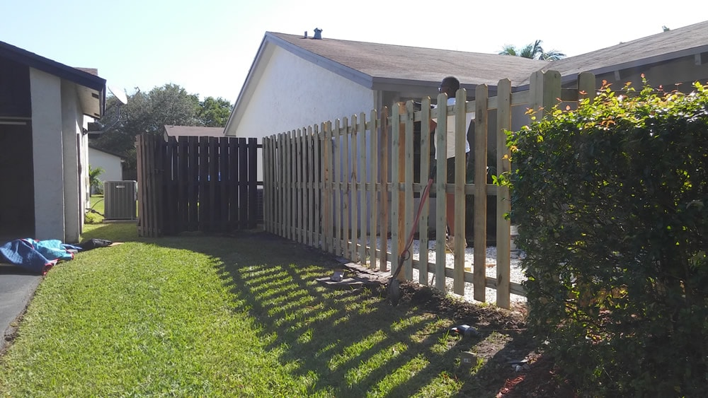 Fence Replacement Company Homestead